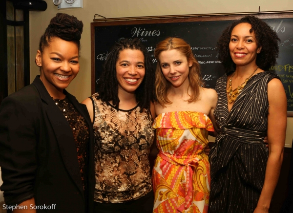 Crystal Dickinson, Tanya Barfield,Kerry Butler, Elisa Davis