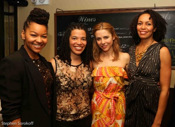 Crystal Dickinson, Tanya Barfield,Kerry Butler, Elisa Davis Photo