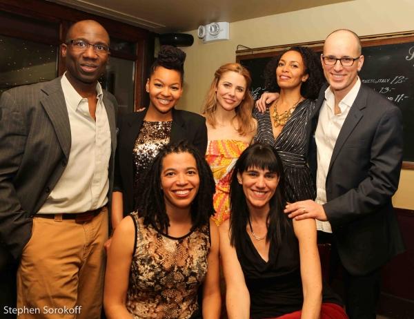 Russell G. Jones, Crystal Dickinson, Kerry Butler, Elisa Davis, Kelly AuCoin, Tanya B Photo