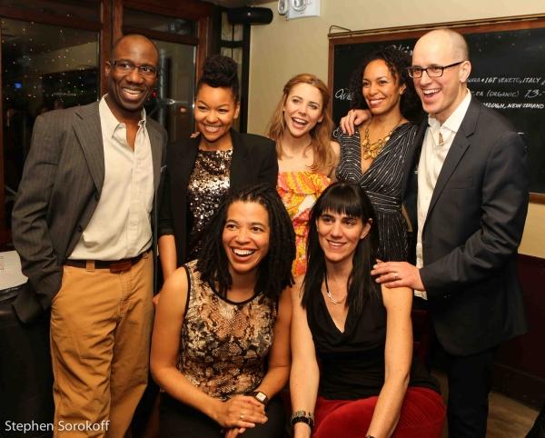 Russel G. Jones, Crystal Dickinson, Kerry Butler, Elisa Davis, Kelly AuCoin, Tanya Ba Photo