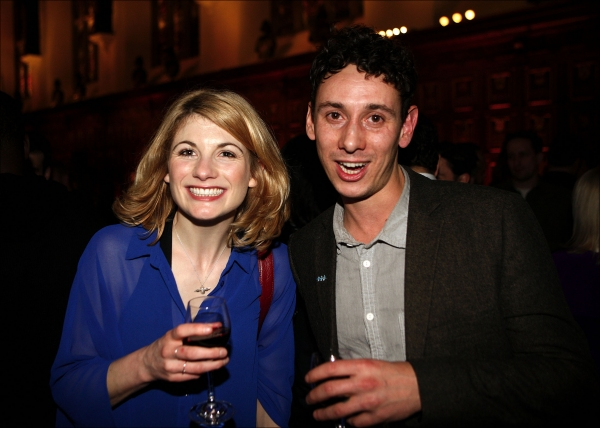 Jodie Whittaker and guest  Photo