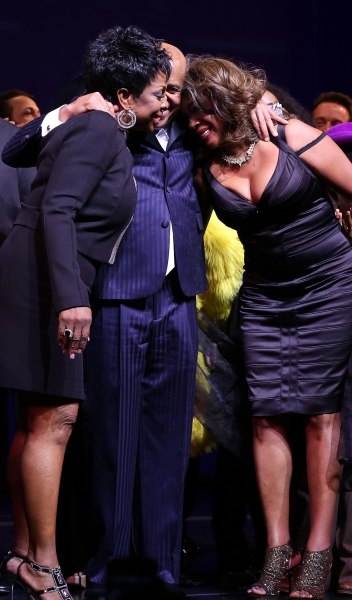 Gladys Knight, Berry Gordy, Mary Wilson