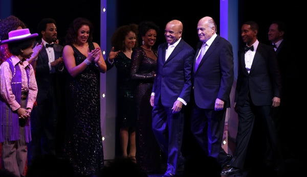 Raymond Luke Jr., Berry Gordy, Doug Morris, Charles Randolph-Wright and Kevin McCollum