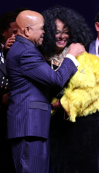 Berry Gordy & Diana Ross