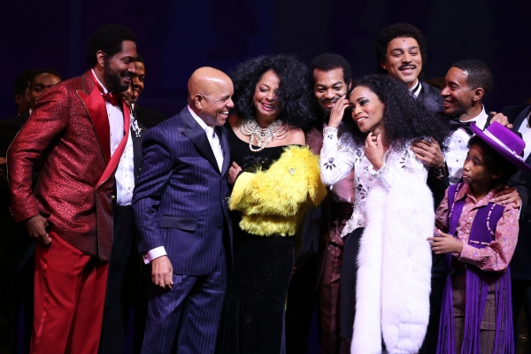 Bryan Terrell Clark, Charl Brown, Smokey Robinson, Berry Gordy, Diana Ross, Valisia LeKae and Brandon Victor Dixon, Raymond Luke Jr., and Charles Randolph-Wright