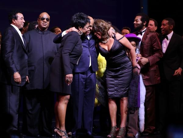 Smokey Robinson, Gladys Knight, Stevie Wonder, Berry Gordy, Mary Wilson, Valisia LeKae, Brandon Victor Dixon,  & Company