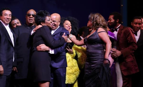 Smokey Robinson, Gladys Knight, Stevie Wonder, Berry Gordy, Diana Ross, Mary Wilson, Valisia LeKae, Brandon Victor Dixon,  & Company