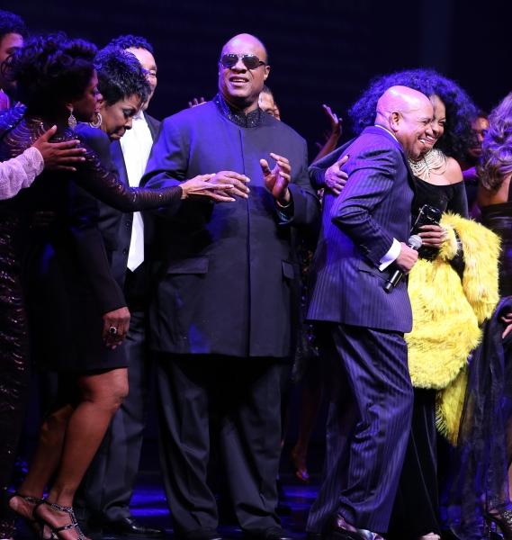 Gladys Knight, Smokey Robinson, Stevie Wonder, Berry Gordy, Diana Ross, & Company