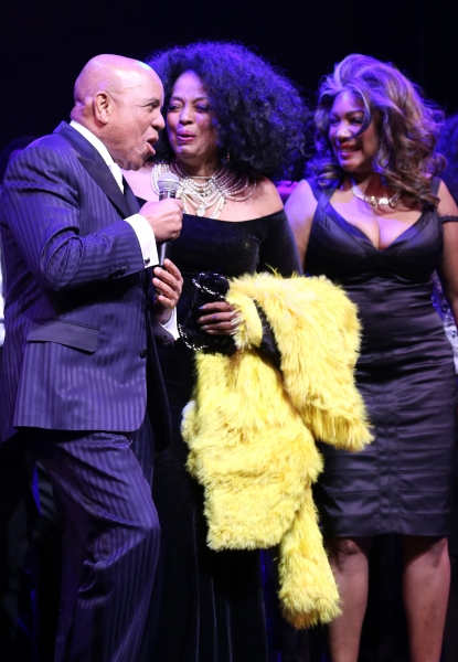 Berry Gordy, Diana Ross & Mary Wilson