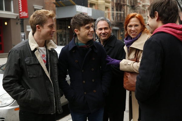 Andy Mientus, Anthony Arkin, Carolee Carmello