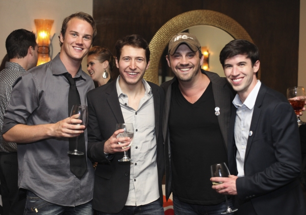 Maxwell Hamilton and MacLeod Andrews, Daniel Talbott and Wyatt Fenner