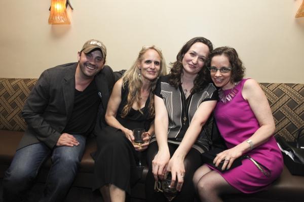 Daniel Talbott, Wendy vanden Heuvel, Addie Talbott and Lynn Tejada Photo