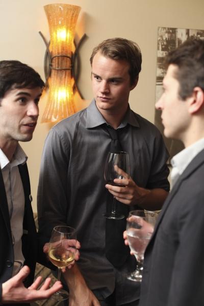 Cast members Wyatt Fenner, Maxwell Hamilton and MacLeod Andrews