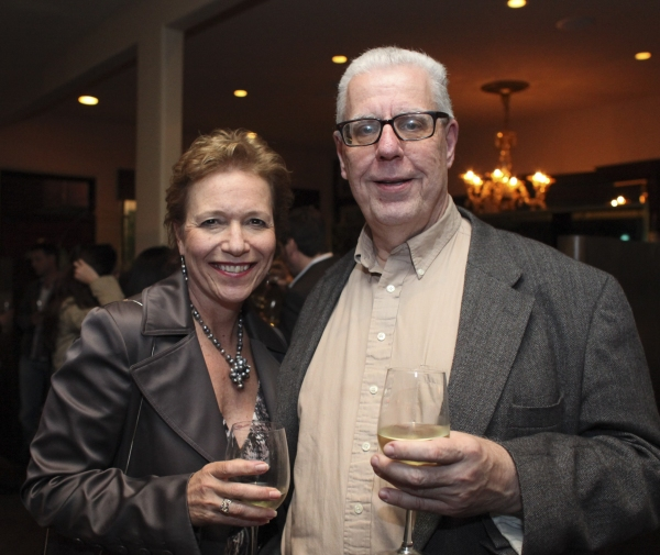Deborah Behrens and Bob Verini