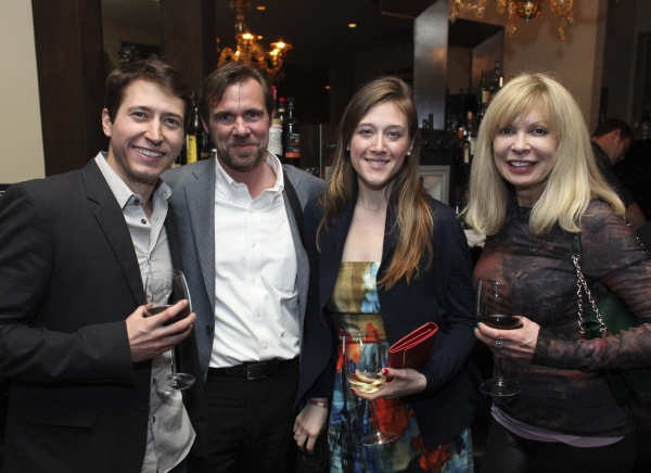 MacLeod Andrews, Rattlestick Theater's Brian Long, Sarah T. Schwab and Alexis Versace