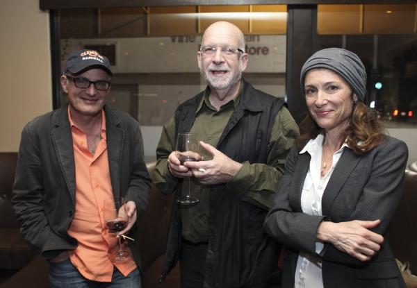 Shem Bitterman, Steve Mark and Barbara Williams