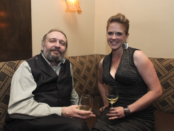 Charles Numrich and assistant director Sarah H. Haught