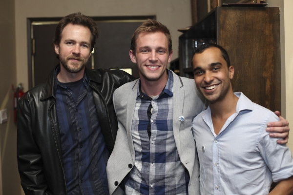 David Shofner, actor Brett Donaldson and Ryan Jackson