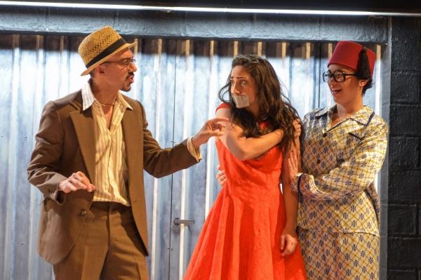 Evan Zes, Annapurna Sriram and Rami Margron