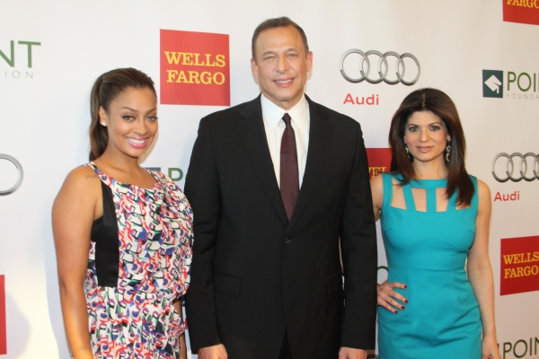 Alani (Lala) Anthony, Peter Lichtenthal and Tamsen Fadal