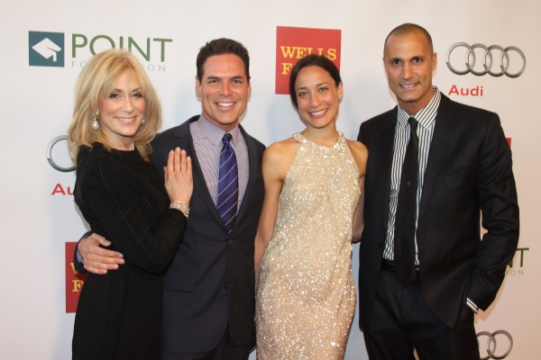 Judith Light, Jorge Valencia, Cristen Barker and Nigel Barker