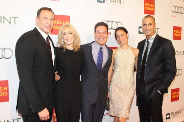 Peter Lichtenthal, Judith Light, Jorge Valencia, Cristen Barker and Nigel Barker