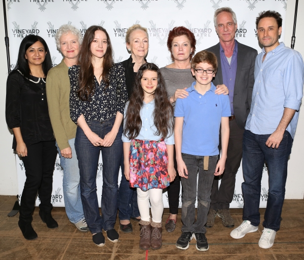 The Ensemble Cast: Maria Elena Ramirez, Mary Shultz, Brooke Bloom, Kathleen Chalfant, Makenna Ballard, Kate Mulgrew, Griffin Birney, Richard Bekins & Greg Keller