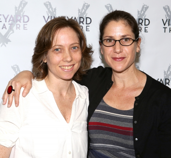 Playwright Jenny Schwartz & Director Anne Kauffman Photo