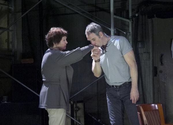 Tina Packer and Nigel Gore