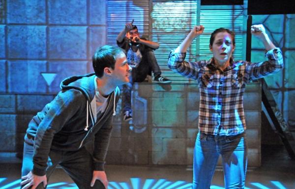 Garrett Neergaard, Bobby Moreno, and Jenny Seastone Stern