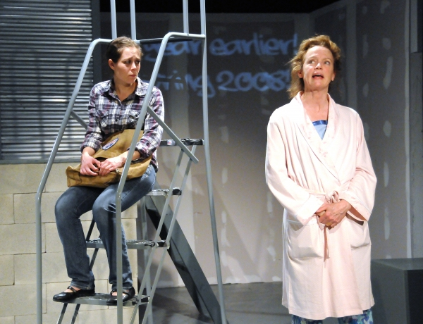 Jenny Seastone Stern and Kristin Griffith