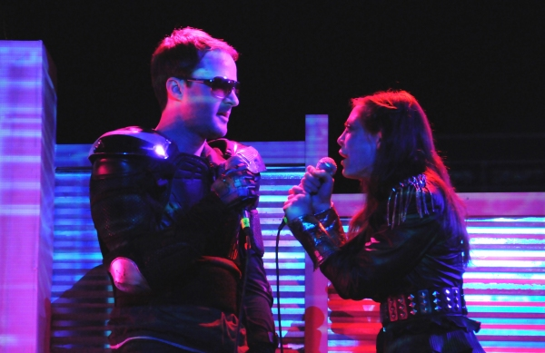 Garrett Neergaard and Jenny Seastone Stern