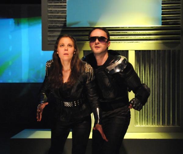 Jenny Seastone Stern and Garrett Neergaard