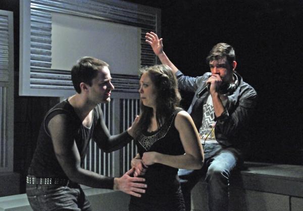 Garrett Neergaard, Jenny Seastone Stern, and Bobby Moreno Photo