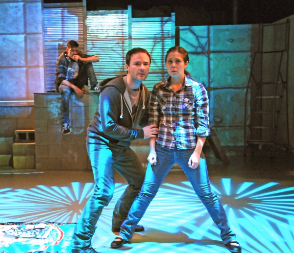 Photo Flash: First Look at New Georges' GOLDOR $ MYTHYKA: A HERO IS BORN at New Ohio Theatre