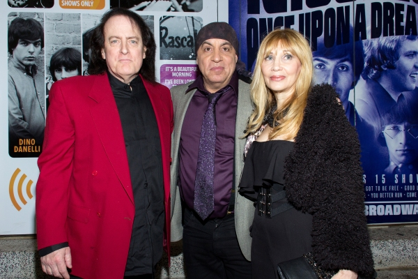 Tommy James, Steven Van Zandt, Maureen Van Zandt