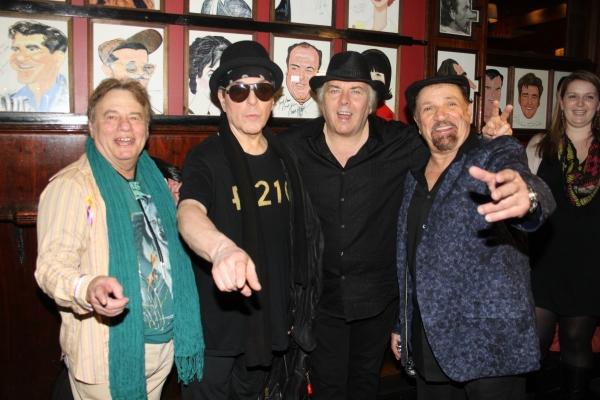 Eddie Brigati, Dino Danelli, Gene Cornish and Felix Cavaliere Photo