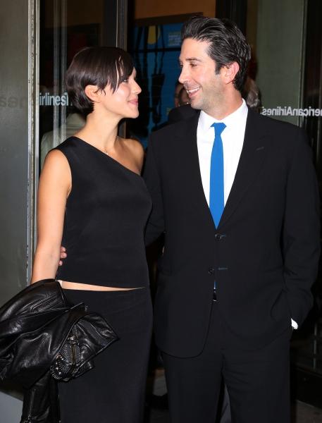 Zoe Buckman & David Schwimmer