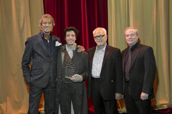 Tommy Tune, Ryne Nardecchia, Bruce Lumpkin & John C. Breckenridge. Photo