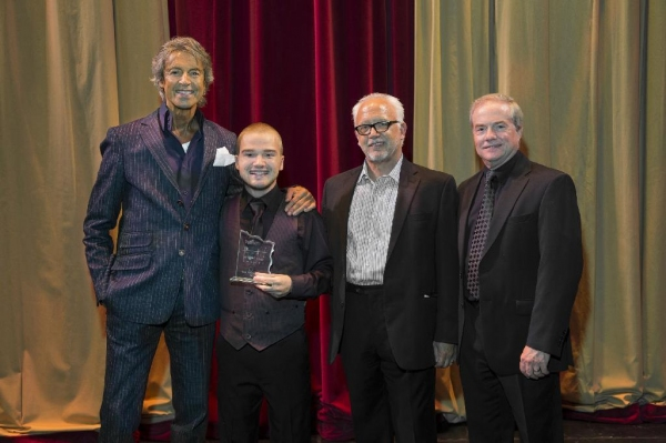 Tommy Tune, Nathan Agnew, Bruce Lumpkin, John C. Breckenridge. Photo