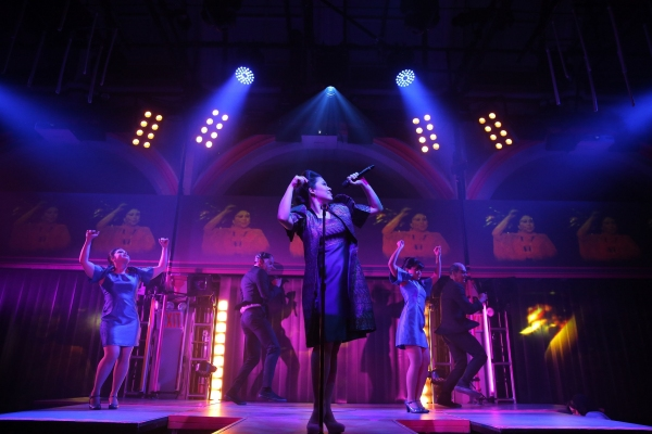 Photo Flash: First Look at Ruthie Ann Miles & More in Public Theater's HERE LIES LOVE