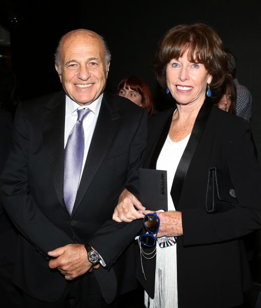 Doug Morris with wife Monique Morris