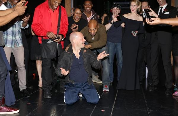 Michael Arnold with Brandon Victor Dixon, Patricia Wilcox & Company  Photo