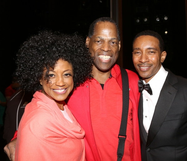 Lauren Lim Jackson, Adrian Bailey & Charles Randolph-Wright  Photo