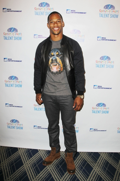 NY Giants all-pro wide receiver and Superbowl Champion, Victor Cruz