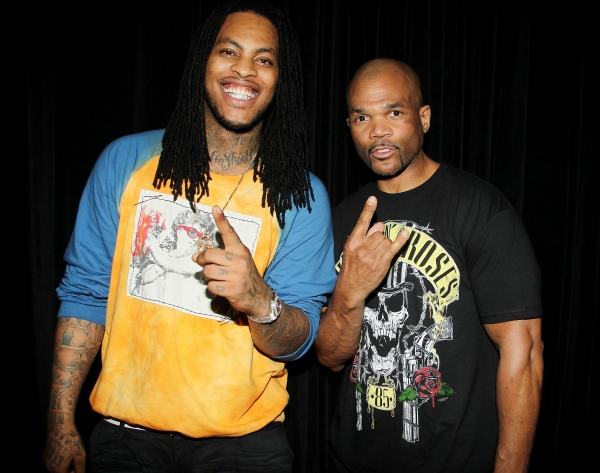 Rapper Wacka Flocka Flame and Run DMC's Darryl McDaniels