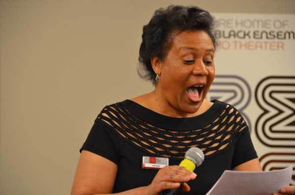 Photo Flash: Black Ensemble Theater's FROM DOO WOP TO HIP HOP VIP Reception