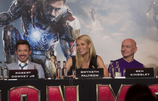 Robert Downey Jr., Gwyneth Paltrow, Ben Kingsley