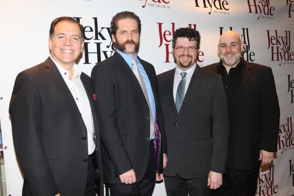 Jerry Christakos, Aaron Ramey, Stephen Mitchell Brown and David Benoit Photo