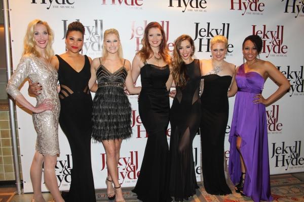 Blair Ross, Emmy Raver-Lampman, Dana Costello, Courtney Markowitz, Ashley Loren, Hale Photo